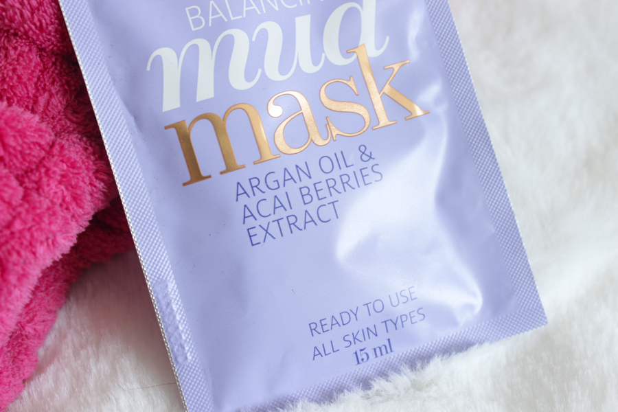 balancing mud mask